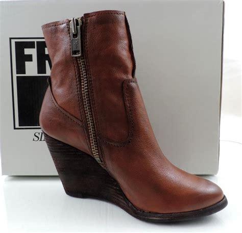 Cece Boot s shoes frye cece artisan wedge booties zip