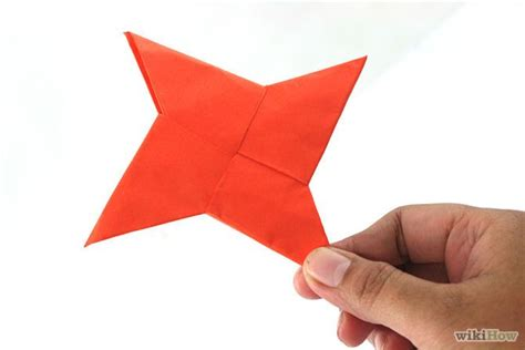 Shuriken Origami - how to fold an origami shuriken