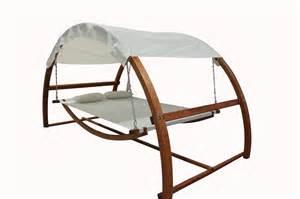 Hammock Canopy twin hammock with waterproof canopy roof hardwood larch