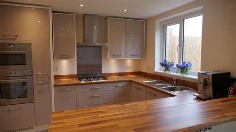 symphony cashmere gloss kitchen wood effect laminate