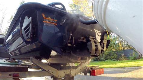 seadoo boat flush how to antifreeze exhaust flush for sea doo watercraft tv
