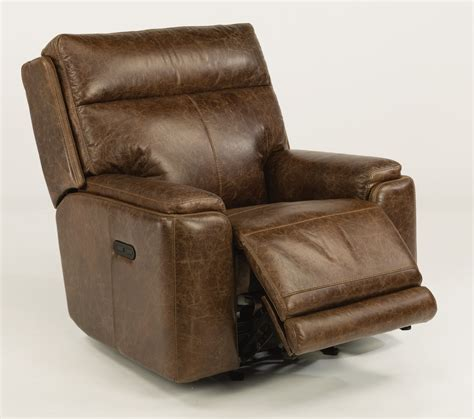 leather power recliner chairs flexsteel sienna leather power recliner harris family