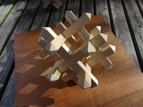 Handcrafted Wooden - handmade wooden puzzle by madeinthemancave on deviantart