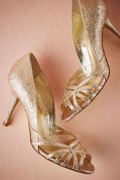 Bridal Pumps Shoes by Starcrossed Peep Toes From Bhldn Of The