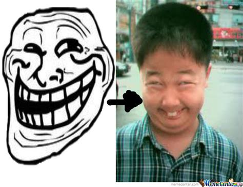 Asian Face Meme - asian troll face by gameofandy meme center