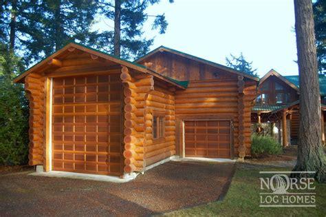 log home with 2 garages log home garage plans linwood garages custom log homes log home builders designs