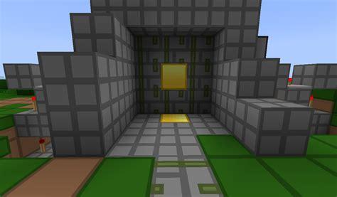 Piston Door by 3x3 Piston Door Minecraft Project