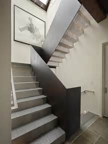 Internal Stair Handrail Art House Stair Modern Staircase Seattle By