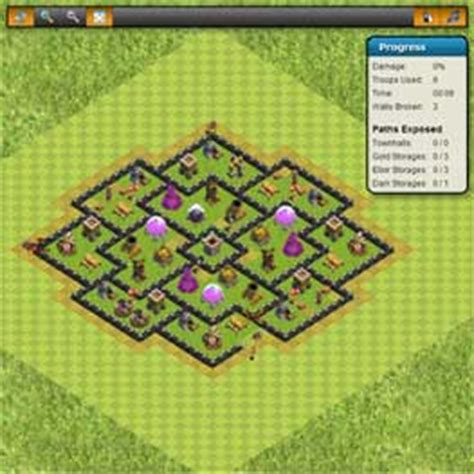 basic layout building guide clash of clans clash of clans tools crush your enemy layout builder