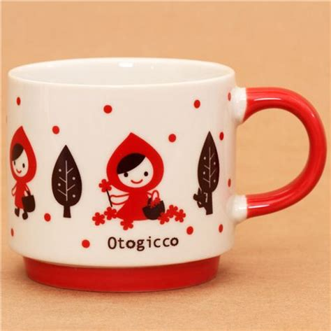 cool cups in the hood decole otogicco little red riding hood fairy tale cup wolf