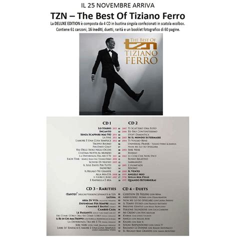 tiziano ferro tzn the best of tiziano ferro tzn the best of deluxe edition de tiziano ferro cd x
