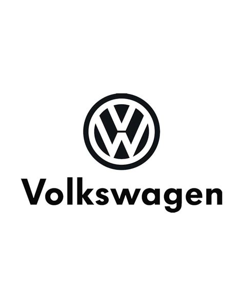 volkswagen logo black and white volkswagen logo black