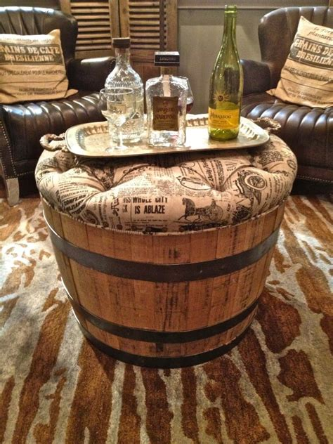 barrel home decor 19 interesting ways of using wine barrels in home d 233 cor