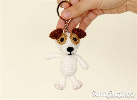amigurumi pattern keychain pattern amigurumi crochet dog keychain pattern pdf file