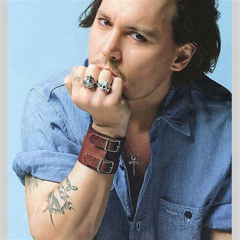johnny depp finger tattoo 30 cool johnny depp tattoos creativefan