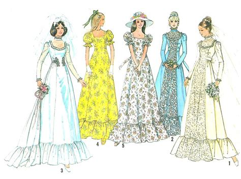 sewing pattern queen anne neckline vintage wedding dress sewing pattern sz 16 sweetheart