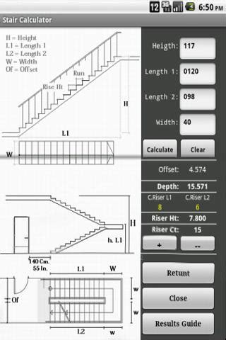 stair design calculator stair calculator go android apps on google play