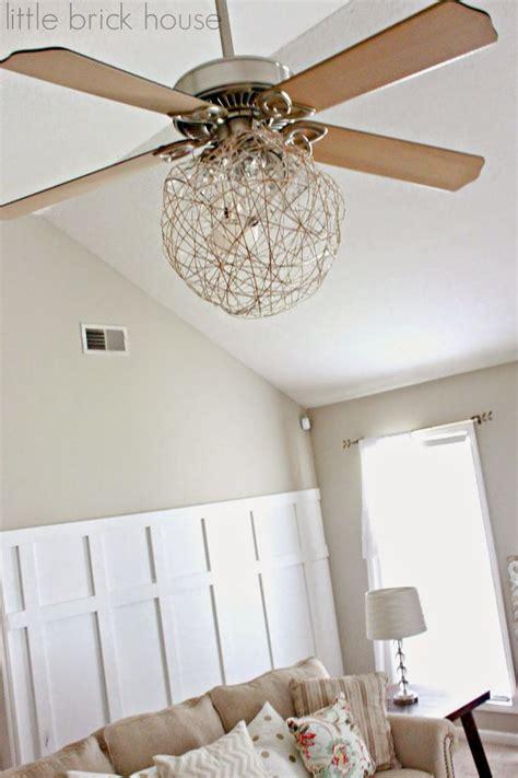 Diy Chandelier Ceiling Fan 1000 Ideas About Ceiling Fan Redo On Pinterest Ceiling