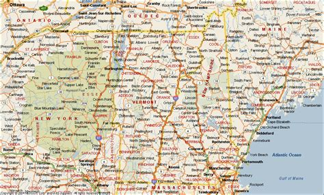 map new hshire and maine images road map of new hshire and maine