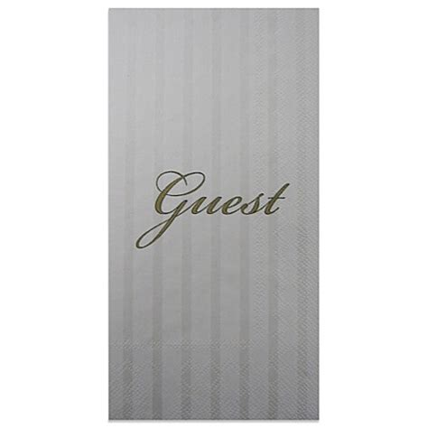 buy quot guest quot 16 pack decorative paper guest towels from bed