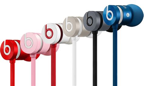 Promo Headset Earphone Nike 631 Mic beats by dre urbeats earphones groupon goods