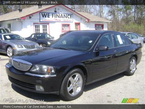 lincoln ls black black 2005 lincoln ls v6 luxury black interior