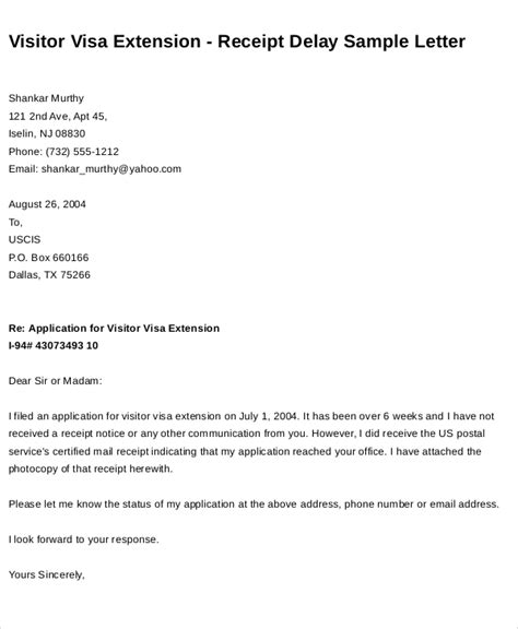Request Letter For Employment Visa Extension sle request letter for student visa extension cover
