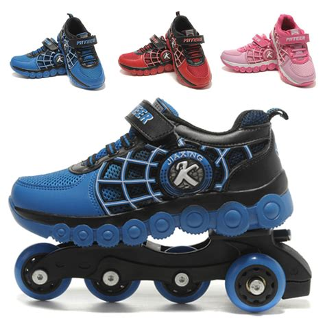 shoes with wheels inline roller skates children shoes sneakers wheel