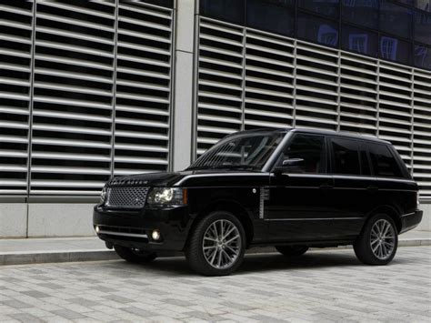 luxury black range rover 5 most expensive luxury suvs for 2015 autobytel com