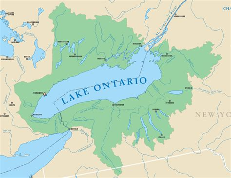 lake map lake ontario michigan sea grant