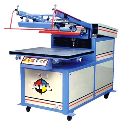 diy screen print india semi auto screen printing machine csf apl india