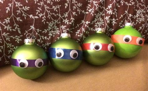 funny christmas tree balls with cartoon characters