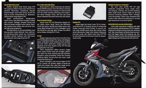 Cover Tutup Depan Supra 150 Gtr spesifikasi lengkap honda supra gtr 150 dengan empat pilihan warna ibnuwajak id