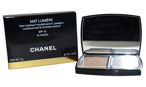 Harga Foundation Chanel Mat Lumiere chanel mat lumiere luminous matte powder foundation groupon