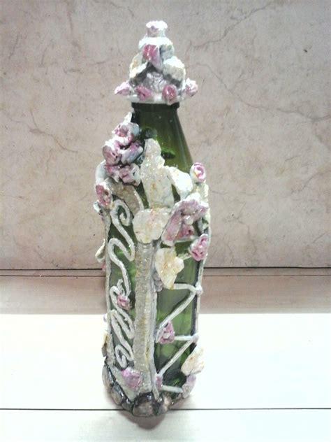 como decorar botellas en vidrio 4 ideas para decorar botellas de vidrio manualidades