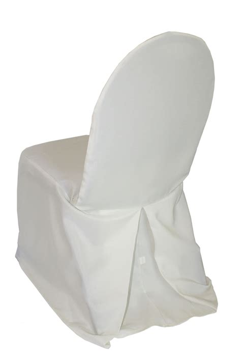 ivory chair covers ivory polyester banquet chair covers