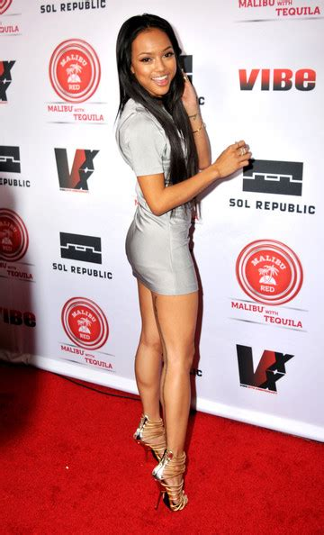 karrueche tran pictures celebs at the vibe 20th