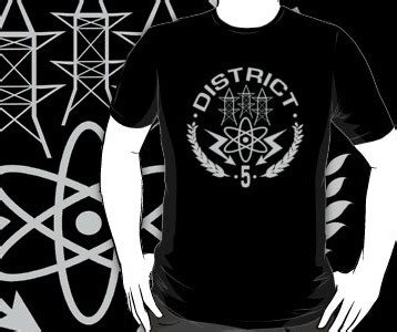 Hunger District 5 district 5 hunger t shirt power district