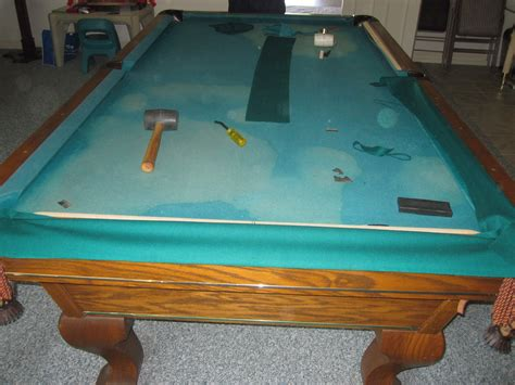 buena park amf pool table refelting dk billiards pool