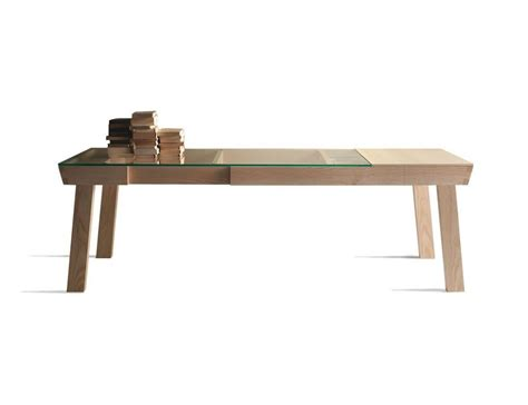 Banc Table by Banc Extendable Table By Linfa Design 187 Gadget Flow