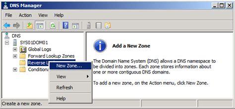 Lookup Zone Resolves Configure Active Directory Dns Server 2008r2 183 Sysads Gazette