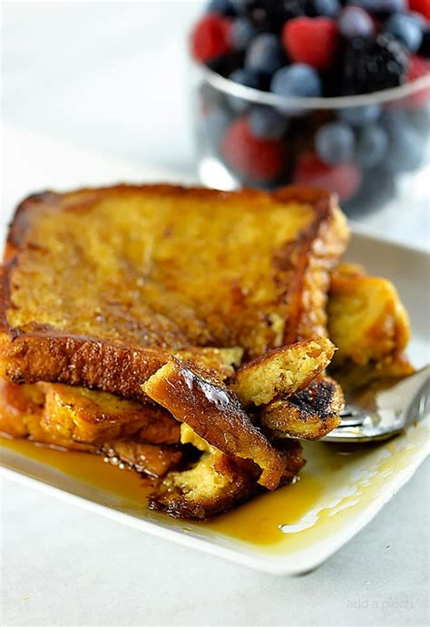 perfect french toast recipe add a pinch