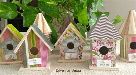 Bird House Decorating Ideas by Easter Table Decorations Diy Birdhouse Place Cards