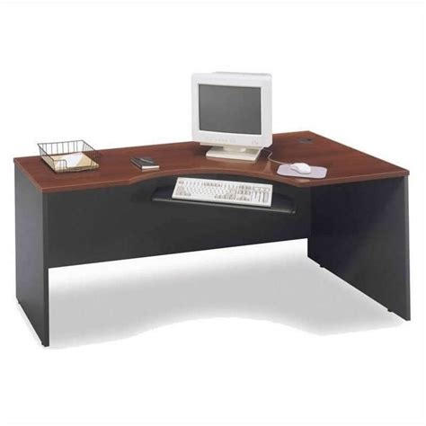 72 Computer Desk Bush Business Series C 72 Quot Computer Desk With Hutch In Hansen Cherry Bsc049 244