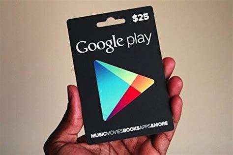 Prepaid Google Play Gift Card - google play prepaid card 25 из сша