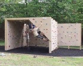 Backyard Rock Climbing Wall by Best 25 Climbing Wall Ideas On Climbing Wall