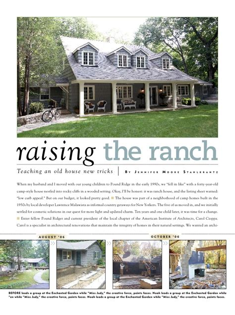 Rancher Style Homes raising the ranch story