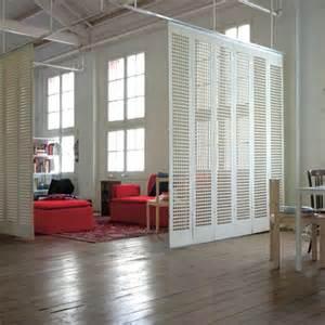 The spanish design studio abr created feel thru felt panels hung from