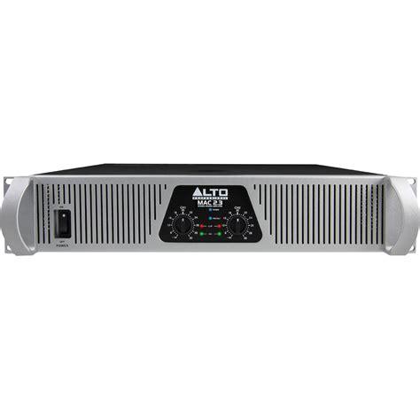 Power Lifier Alto alto mac 2 3 2 channel 2200w power lifier mac2 3 b h photo