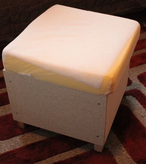 how to cover an ottoman with fabric no sew diy sew your own ottoman covers domestocrat